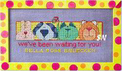 We've Been Waiting for You! from AB Designs - click for more
