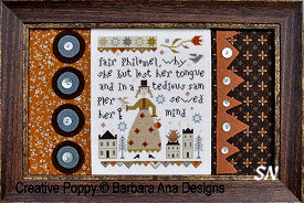 Fair Philomel from Barbara-Ana Designs - click to see more