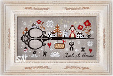 Let It Snow from Barbara-Ana Designs - click to see more