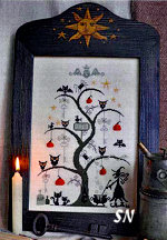O Halloween Tree from Barbara-Ana Designs - click to see more
