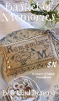 Rewards of Merit Pincushions Basket of Memories from Blackbird Designs - click for more