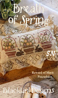 Rewards of Merit Pincushions Breath of Spring from Blackbird Designs - click for more
