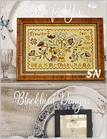 Flowers for You from Blackbird Designs - click for more