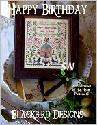 Happy Birthday -- Anniversaries From the Heart #6 from Blackbird Designs - click for more
