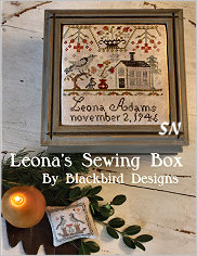 Leona's Sewing Box from Blackbird Designs - click for more