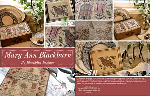 Mary Ann Blackburn from Blackbird Designs - click for more