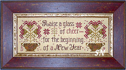 Raise a Glass of Cheer from Blackbird Designs - click for more