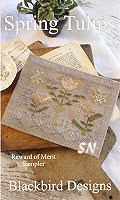 Rewards of Merit Pincushions Spring Tulips from Blackbird Designs - click for more
