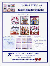 Holiday Helpings Stitch Starter Sleeves from Blue Ribbon Designs - click for more