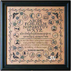 A Schoolroom Alphabet-the sampler- click for more