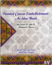Painted Canvas Embellishments: An Idea Book - click to see more