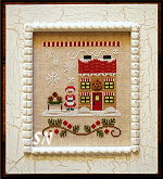 Needleworks Santas Village #4 Mrs Claus' Cookie Shop from Country Cottage Needleworks -- click to see more