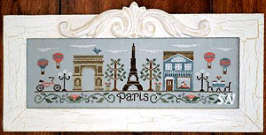 Afternoon in Paris from Country Cottage Needleworks -- click to see lots more