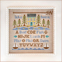 Lake House from Country Cottage Needleworks -- click to see more
