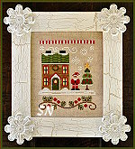 Needleworks Santas Village #1 Santas House from Country Cottage Needleworks -- click to see more