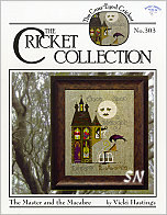 303 The Master and the Macabre from Cross Eyed Cricket - click for more