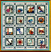 The Sea Quilt from Chatelaine Designs - click for more