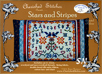 Stars and Stripes from Cherished Stitches - click to see more