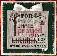 For This Child from Cherry Hill Stitchery - click to see more