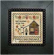 Chessie & Me Scarlet's Christmas Sampler -- click to see more