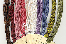 Here are the equivalent colors in Classic Colorworks flosses
