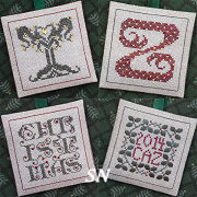 Alphabet Ornaments Y Z & Bonus Charts from The Drawn Thread -- click to see more