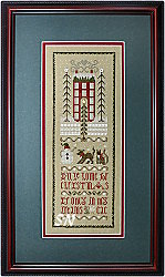 Christmas Dreams Sampler from The Drawn Thread -- click to see more