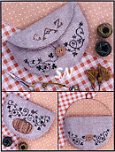 The Pumpkin Pocket from The Drawn Thread - click to see more
