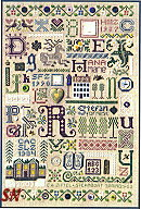Souvenir Sampler by The Drawn Thread -- click to see more!