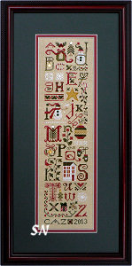 Christmas Thoughts Sampler from The Drawn Thread -- click to see more