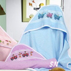 Hooded Terry Cloth Baby Towels -- click to see more
