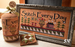 Stitch Every Day Sampler & Drum from Hands On Design