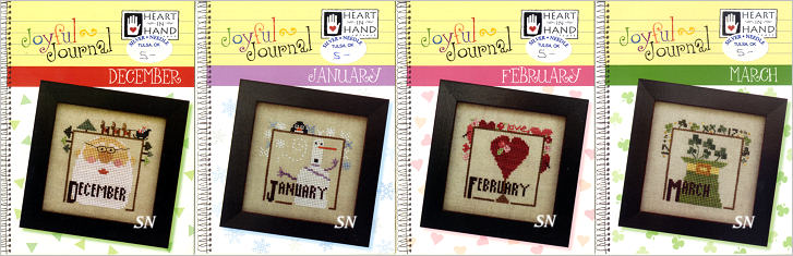 The first 4 of the Joyful Journal Series from Heart in Hand - click for more