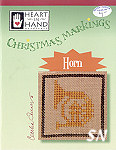 Christmas Markings Horn from Heart in Hand - click for more