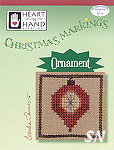 Christmas Markings Ornament from Heart in Hand - click for more