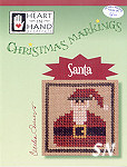 Christmas Markings Santa from Heart in Hand - click for more