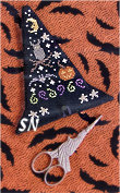 Witch's Hat Scissor Case from Historic Stitches - click to see more