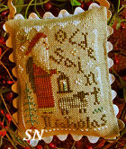 2014 Santa Ornament Old Saint Nicholas from Homepsun Elegance - click to see more
