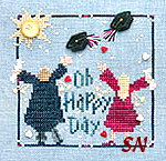 Oh Happy Day! from Just Another Button Company - click to see more graduation designs