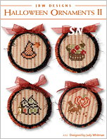 262 Halloween Ornaments II from JBW Designs - click to see more