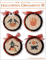 263 Halloween Ornaments III from JBW Designs - click to see more