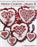 #249 French Country Hearts Collection TWO from JBW Designs - click to see more