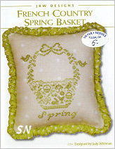 JBW's 294 French Country Spring Basket - click to see more