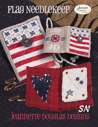 Flag Needlekeep by Jeannette Douglas -- click to see more