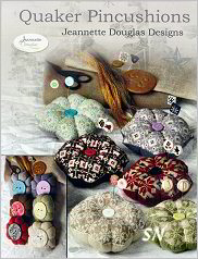 Quaker Pin Cushions by Jeannette Douglas -- click to see more