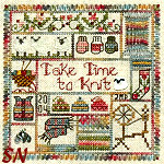Take Time to Knit by Jeannette Douglas Designs -- click for more