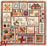 Take Time to Quilt -- Autumn by Jeannette Douglas Designs -- click for more
