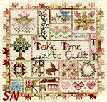 Take Time to Quilt -- Spring by Jeannette Douglas Designs -- click for more
