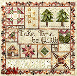 Take Time to Quilt -- Winter by Jeannette Douglas Designs -- click for more