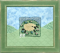 The Sheep's in the Meadow from Kreinik and Erica Michaels -- click to see lots more!